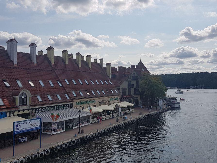Atrakcje turystyczne Mikołajek - restauracja Sielawa