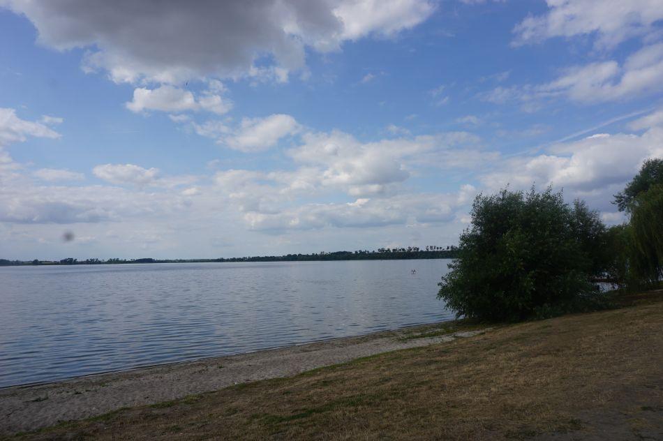 Jedną zatrakcji Żnina jest Jezioro Duże