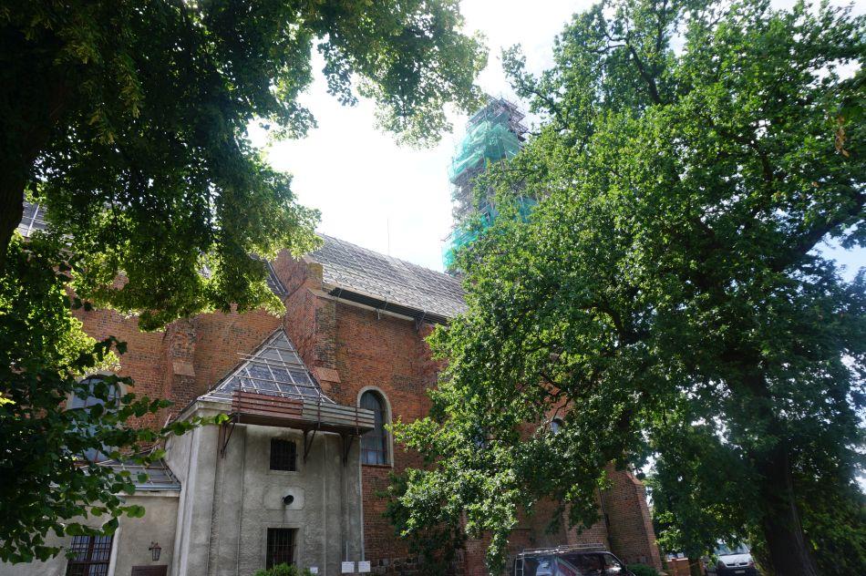 Jedną zatrakcji Żnina jest kościół św.Floriana