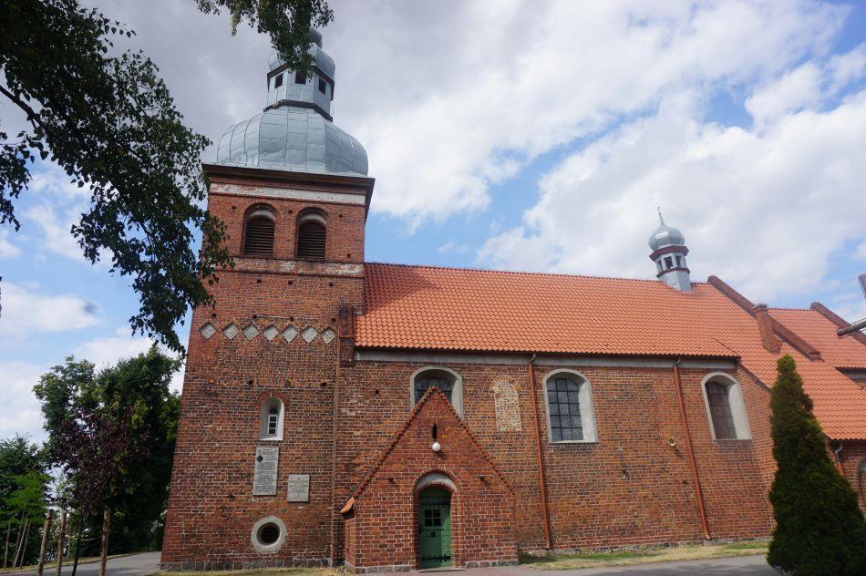 Jedną zatrakcji Żnina jest gotycki kościół św.Marcina