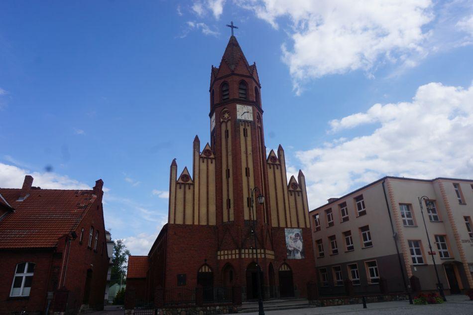 Jedną zatrakcji Żnina jest kościół Najświętszej Maryi Panny Królowej Polski