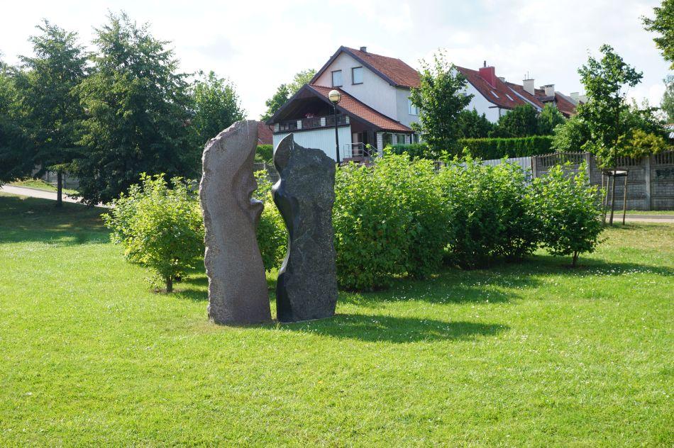 Park rzeźb wMrągowie